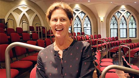 Getting women to church image