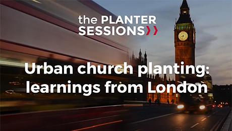 Urban church planting: learnings from London image